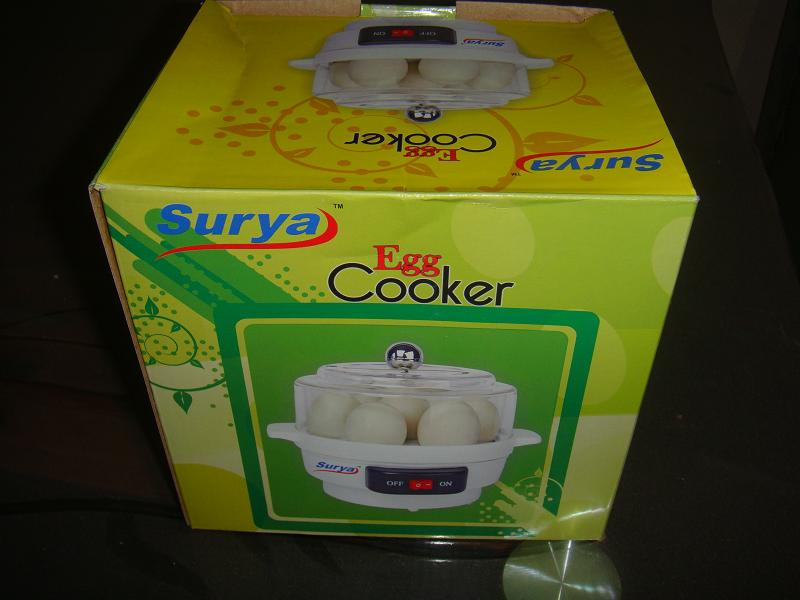 7 piece egg cooker