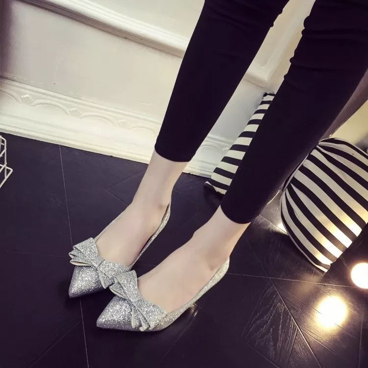 Bow Style Ladies Shoes