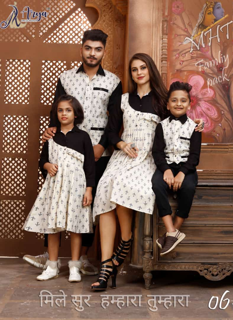MTA FAMILY PACK Khadi Cotton Western Design 01
