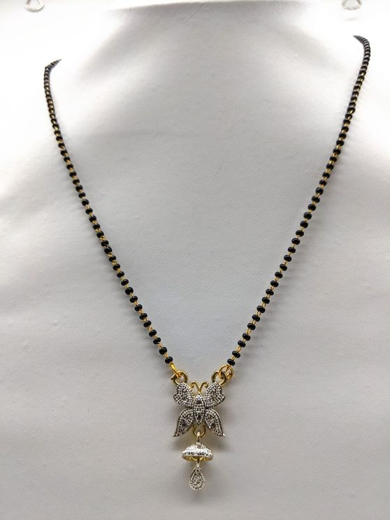 Gold Plated American Diamond Necklace