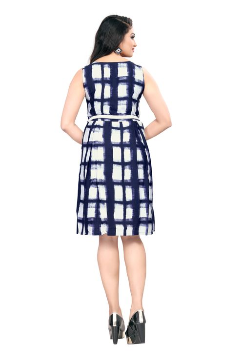 American-Crepe-Fit-And-Flare-Dress-Blue-and-White-Color2.jpg
